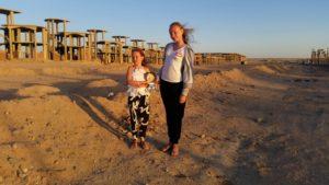 Betty, Sipsik, Steffi. Egiptuses Hurghadas, märts2015