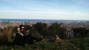 Hispaania Barcelona 26032015 Kristiina Raud 1Guinardo pargi mäe otsas