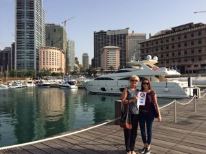 Liibanon Beirut mai2015Koos Gina ja Marya Hannaga
