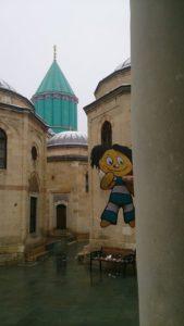 Sipsik Türgis11022015Mevlana e. Rumi muuseumis.Rumi oli suur islami poeet ja õpetlane, pöörlevate dervishite isa